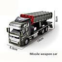 billige Toy Trucks & Construction Vehicles-Militærkjøretøy Ambulanse Brannbil Leketrucker og byggebiler 1:48 simulering Plast og Metall 1 pcs Barn Leketøy Gave