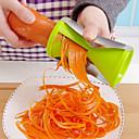 billige Frukt & Grønnsaks-verktøy-1pc kjøkken Verktøy Plastikker Enkel / Manuell Skreller & Rivjern for Frukt / for Vegetabilsk / Originale kjøkkenredskap