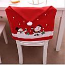 billige LED-kædelys-jule stol bagcover dekoration navidad hat julepynt til hjem middag bord nytår xmas stol dækning