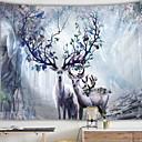 cheap Wall Tapestries-Envelope / Rectangular Wall Decor 100% Polyester Modern Wall Art, Wall Tapestries Decoration