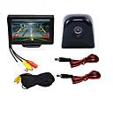 ieftine Kit Bluetooth Mașină/Mâini-libere-BYNCG WG4.3T-4LED 4.3 inch TFT-LCD 480TVL 480p 1/4 inch culoare CMOS Cablu 120 Grade 1 pcs 120 ° 4.3 inch Cameră vedere retrovizoare / Mașină de mers înapoi / Setul de vedere al mașinii din spate