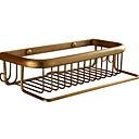 hesapli Banyo Rafları-Banyo Rafı Yeni Dizayn / Havalı Antik Pirinç 1pc Duvara Monte Edilmiş