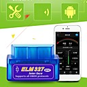 ieftine OBD-mini elm 327 bluetooth obd2 obdii v2.1 mașină interfață instrument de diagnostic instrument de detectare a defecțiunilor auto vehicul cititor cod de eroare scaner