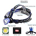cheap Audio & Video Cables-U'King Headlamps Headlight LED LED 2000 lm 3 Mode with Batteries and Chargers Zoomable, Alarm, Adjustable Focus Camping / Hiking / Caving, Everyday Use, Cycling / Bike