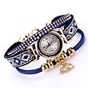 preiswerte Kigurumi Pyjamas-Damen Armbanduhr Quartz Schwarz / Weiß / Blau Neues Design Armbanduhren für den Alltag Analog damas Modisch Elegant - Braun Rot Blau Ein Jahr Batterielebensdauer
