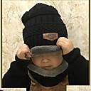 זול ילדים כובעים ומצחיות-מידה אחת שחור / אודם / אפור כובעים ומצחיות כותנה / אקריליק אחיד יומי / בית הספר פעיל / בסיסי יוניסקס ילדים