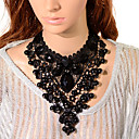 cheap Hair Pieces-Women's Beaded Statement Necklace - Resin Boho Cute Black 92 cm Necklace Jewelry 1pc For Gift, Ceremony
