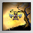 cheap Rolled Canvas Prints-Print Stretched Canvas Prints - Animals / Halloween Decorations Modern