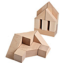 cheap Foam Blocks-Building Blocks Geometric Pattern Cool Exquisite Wooden Child's All Toy Gift 1 pcs