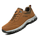 cheap Men's Athletic Shoes-Men's Comfort Shoes PU(Polyurethane) Fall Sporty Athletic Shoes Hiking Shoes Non-slipping Gray / Brown / Army Green