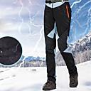 baratos Roupas de Esqui-Mulheres Calças de Esqui Prova-de-Água Térmico / Quente Zíper á Prova-de-Água Esqui Snowboard Esportes de Inverno 100% Chenile de Algodão Polyster Calças de babador de neve Roupa de Esqui