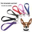 cheap Dog Collars, Harnesses & Leashes-Dogs / Cats Leash Portable / Adjustable / Retractable / Hands free Solid Colored Metalic / Nylon / Metal Green / Pink / Black