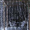 Χαμηλού Κόστους LED Φωτολωρίδες-6m Φώτα σε Κορδόνι 600 LEDs Άσπρο Διακοσμητικό 220-240 V 1set