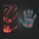 hesapli iPhone Kılıfları-Pouzdro Uyumluluk Apple iPhone X / iPhone 8 Plus Buzlu Arka Kapak Solid Yumuşak Silikon için iPhone X / iPhone 8 Plus / iPhone 8