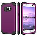 tanie Kamery samochodowe tylne-BENTOBEN Kılıf Na Samsung Galaxy S7 Odporny na wstrząsy Pełne etui Solidne kolory Twardość Silikon / PC na S7