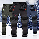 cheap Hiking Trousers & Shorts-Men's Hiking Pants Outdoor Windproof, Rain-Proof, Keep Warm Winter Pants / Trousers Hiking / Camping / Walking / Anatomic Design / Anatomic Design