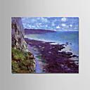 levne Krajiny-Hang-malované olejomalba Ručně malované - Slavné Krajina Moderní Obsahovat vnitřní rám / Reprodukce plátna