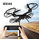 tanie Quadrocoptery RC i inne  zabawki latające-RC Dron IDEA5 RTF 6-kanałowy Oś 6 2,4G 640P Zdalnie sterowany quadrocopter Tryb Healsess / Możliwośc Wykonania Obrotu O 360 Stopni / Wiszenie Aparatura Sterująca / 1 kabel USB / Śmigła