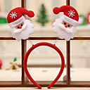 cheap Christmas Decorations-Christmas Holiday Plastic Round Party Christmas Decoration