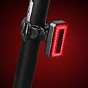 halpa Pyöräilyvalot-LED Pyöräilyvalot Polkupyörän jarruvalo turvavalot takavalot Maastopyöräily Pyöräily Vedenkestävä Älykäs induktio Pikairrotettava Ladattava akku 1000 lm Punainen Pyöräily - RAYPAL