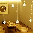 olcso LED világítás-3M Fényfüzérek 20 LED Meleg fehér Dekoratív 220-240 V 1set