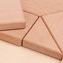 olcso Fából készült építőjátékok-Fából készült építőjátékok geometrikus minta Menő Tökéletes Fa 1 pcs Gyermek Összes Játékok Ajándék