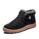 رخيصةأون أحذية أوكسفورد للرجال-رجالي أحذية الراحة PU الخريف كاجوال كتب ارتداء إثبات البوط القصير / بوط الكاحل أسود / رمادي / أزرق