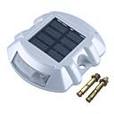 halpa Polun valot-1kpl 2 W Lawn Valot / Led Street Light / Aurinkosuojalaite Vedenkestävä / Aurinkokenno / Koristeltu Valkoinen / Punainen / Sininen 1.2 V Ulkovalaistus / Piha / Puutarha 6 LED-helmet