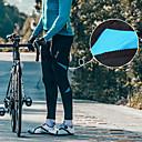 abordables Collants, Cuissards, Shorts de Cyclisme / Vélo-SANTIC Homme Cuissard Long Velo Cyclisme Vélo Collants Pantalons Bas Coupe Vent Séchage rapide Des sports Couleur unie Elasthanne Noir / Rouge / noir / vert / Noir / bleu. VTT Vélo tout terrain Vélo