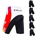 cheap Cycling Pants, Shorts, Tights-Realtoo Men's Cycling Padded Shorts Bike Padded Shorts / Chamois Classic Spandex Blue / Black / White / Black / Red Bike Wear / Micro-elastic