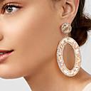 preiswerte Modische Ohrringe-Damen Kubikzirkonia Tropfen-Ohrringe - Strass damas Modisch Elegant überdimensional Schmuck Hellblau / Hellbraun / Leicht Rosa Für Party Zeremonie 1 Paar