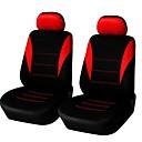 abordables Fundas de Asiento-Fundas para asiento Cubre asientos Negro / Gris / Rojo Tejido Negocios / Común Para Universal Universal Universal