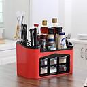 billige Stativer og holdere-Kjøkkenorganisasjon Kjøkkenutstyr Holdere Plastikk Kreativ Kjøkken Gadget / Lett å Bruke 1pc