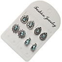 cheap Earrings-1 set Women's Solitaire Stud Earrings Drop Earrings - Jewelry Light Blue For Party / Evening Daily