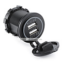 cheap Car Charger-LOSSMANN Motorcycle / Car Car Charger 2 USB Ports for 5 V