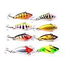 お買い得  ルアー/フライ-8 pcs ルアー ハードベイト プラスチック 屋外 シンキング ベイトキャスティング ルアー釣り 一般的な釣り