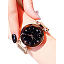 cheap Clutches & Evening Bags-Women's Wrist Watch Gold Watch Quartz Black / Blue / Purple 30 m Water Resistant / Waterproof Casual Watch Analog Ladies Diamond Look Casual Fashion - Purple Blue Rose Gold