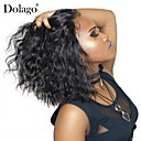cheap Human Hair Wigs-Short Human Hair Wigs For Black Women 130% Density Brazilian Wavy Bob Lace Front Human Hair Wigs Pre-plucked with Baby Hair