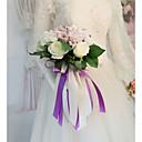 povoljno Naušnice-Cvijeće za vjenčanje Buketi Vjenčanje / Svadba Osušeni cvijet / Svila 11-20 cm