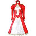 tanie Kostiumy anime-Zainspirowany przez Fate / Grand Order Nero Claudius Anime Kostiumy cosplay Garnitury cosplay Patchwork Sukienka / Więcej akcesoriów / Kostium Na Męskie / Damskie