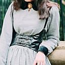 halpa Korsetit-Prinsessa Gootti-Lolita Vintage-kokoelma Asu Naisten Korsetti N / A Musta Vintage Cosplay Teryleeni Hihaton Lolita