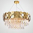 tanie Żyrandole-QIHengZhaoMing 8 świateł Sputnik Żyrandol Światło rozproszone Mosiądz Metal 110-120V / 220-240V Ciepła biel
