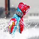 tanie Rękawiczki-Rękawice narciarskie Rękawiczki zimowe Damskie Skóra Full Finger Keep Warm Wiatroodporna Przepuszczalność wilgoci Oddychający Narciarstwo