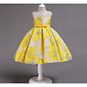 preiswerte Kleider für Mädchen-Kinder Mädchen Süß Blumen Schleife Ärmellos Kleid Rosa