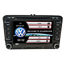 cheap Flashlights & Camping Lanterns-520WGNR04 7 inch 2 DIN Windows CE In-Dash Car DVD Player GPS / Touch Screen / Built-in Bluetooth for Volkswagen Support / Steering Wheel Control / Subwoofer Output / Games / SD / USB Support