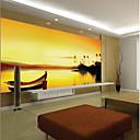 billige Vegglamper-bakgrunns / Veggmaleri Lerret Tapetsering - selvklebende nødvendig Art Deco / Mønster / 3D
