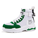 זול אביזרים למקרנים-בגדי ריקוד גברים נעלי נוחות סוויד חורף יום יומי נעלי אתלטיקה כדורסל ללא החלקה שחור / אדום / ירוק