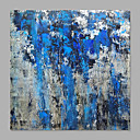 cheap Oil Paintings-Oil Painting Hand Painted - Abstract Classic / Modern Rolled Canvas