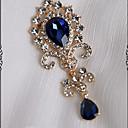 hesapli Korseler-Lolita Aksesuarları Sweet Lolita Broşlar Geleneksel / Eski Tip Sweet Lolita Kadın's Kırmzı / Yeşil / Mavi Solid Art Deco Mozaik Broş Suni Değerli Taş Kostümler