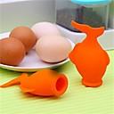 abordables Utensilios para huevos-1pc Herramientas de cocina Silicona Utensilios / Cocina creativa Gadget Utensilios para huevos para huevo